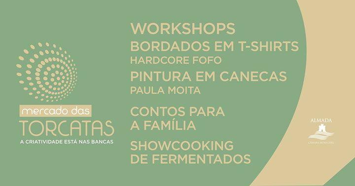 Workshops, conto para famílias e showcooking de fermentados