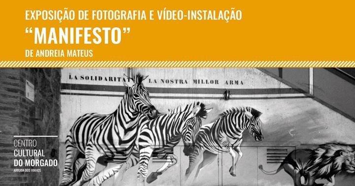 """Exposição """"Manifesto"""" de Andreia Mateus"""