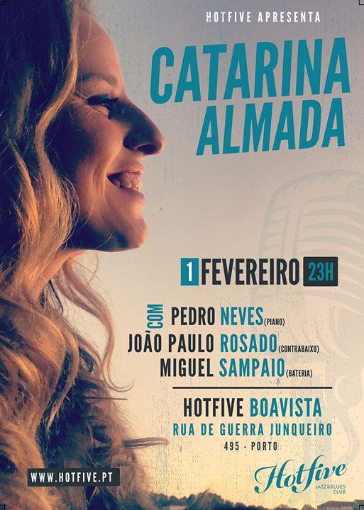 Catarina Almada + Jazz trio