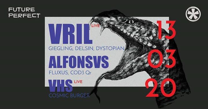 Adiado - Future Perfect x Industria - VRIL (live), Alfonsvs, VHS