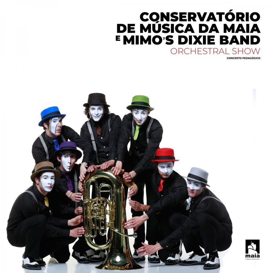 Conservatório de Música da Maia e Mimo's Dixie Band - CANCELADO