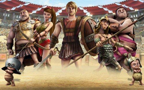 """Cinema de Animação: """"Gladiadores"""""""