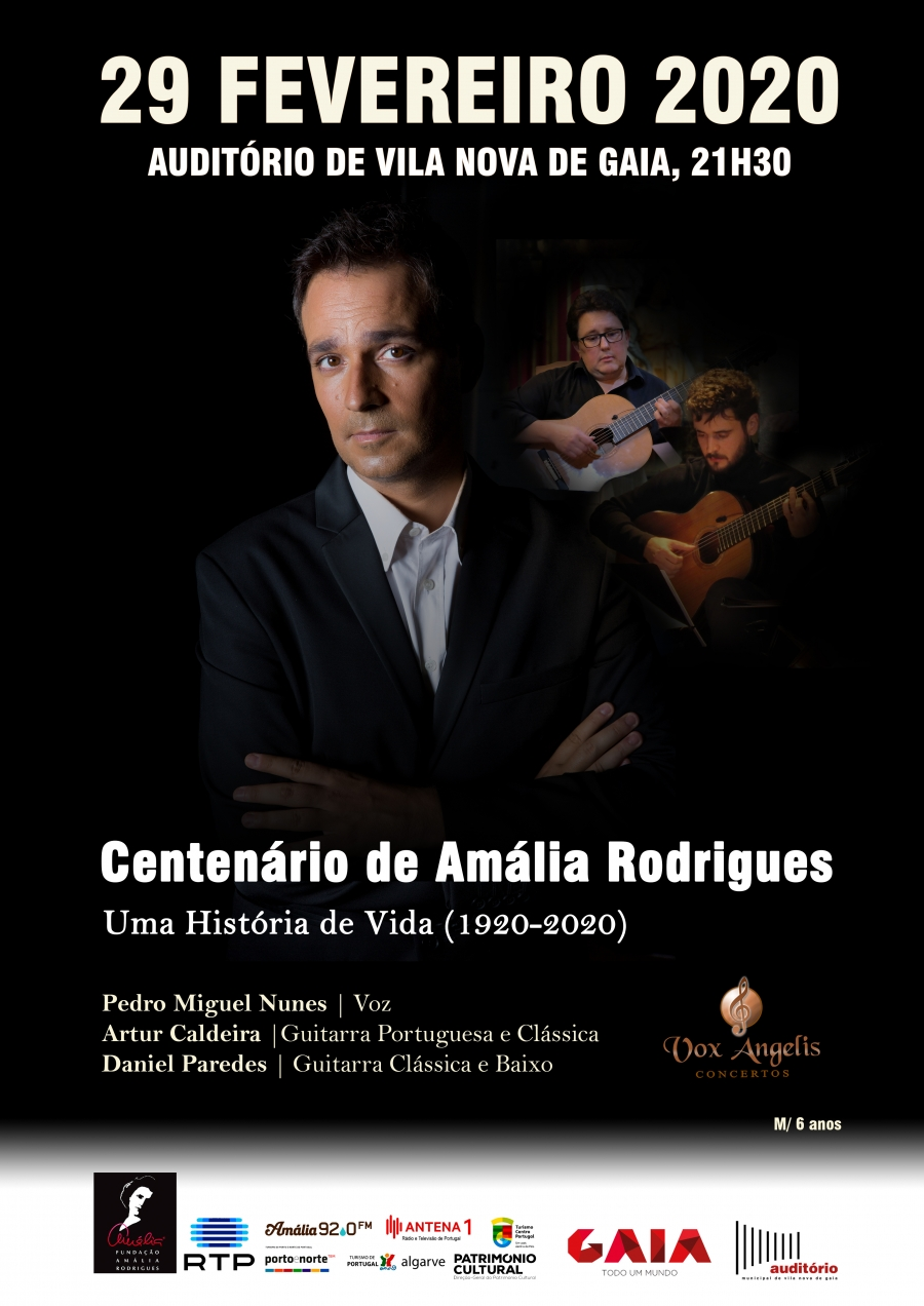 1920-202: Centenário do Nascimento de Amália Rodrigues