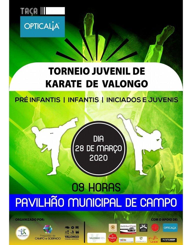 Torneio Juvenil de Karate de Valongo