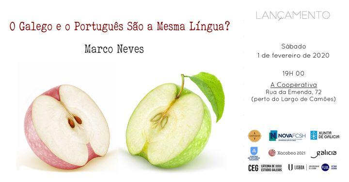 Lançamento do Livro 'O Galego e o Português São a Mesma Língua?