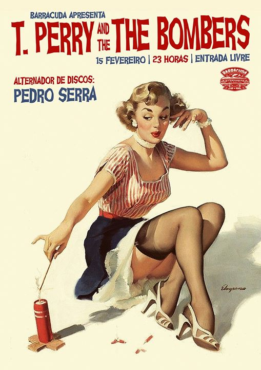 T. Perry and The Bombers & Pedro Serra - Entrada Livre