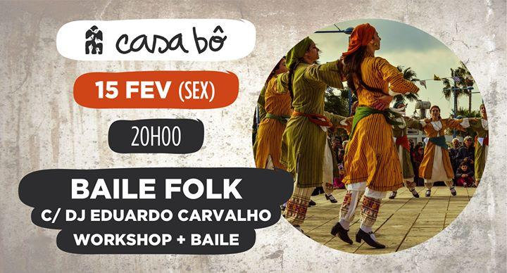 Workshop + Baile: Folk