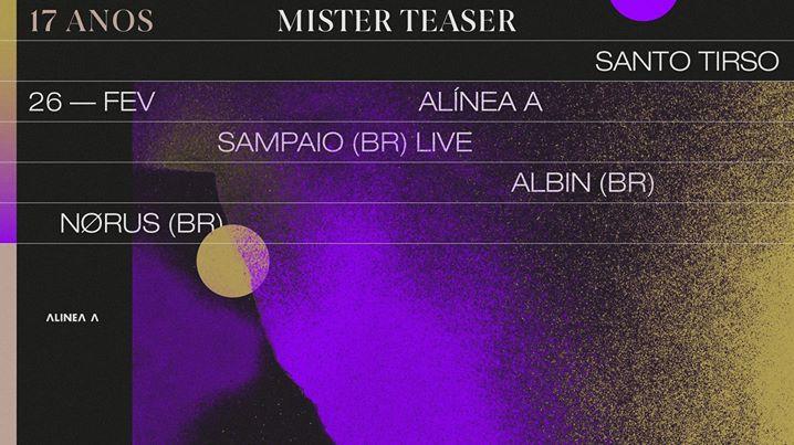 17 anos de Mister Teaser—ALÍNEA A—Santo Tirso
