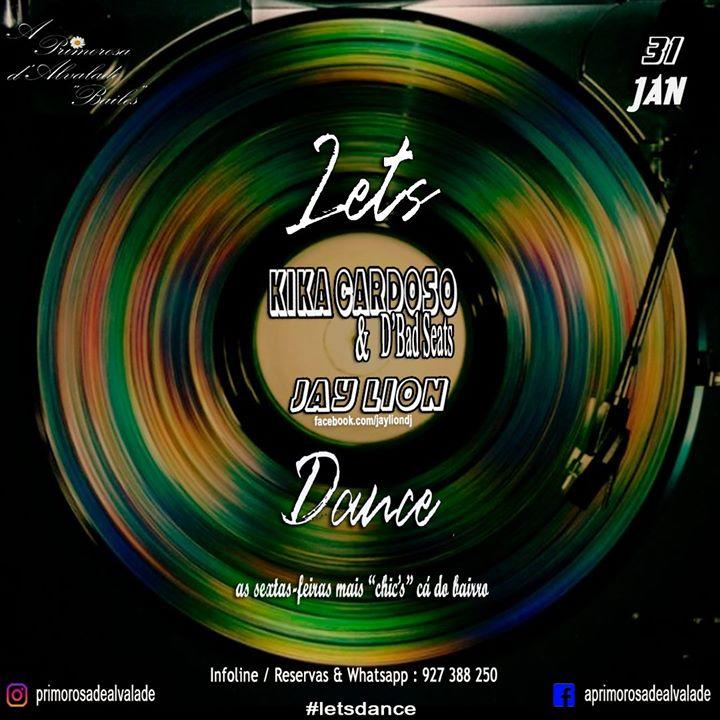 Let's Dance na Primorosa com Kika & d'Bad Seats e Jay Lion