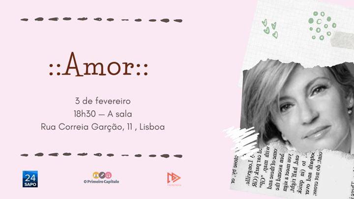 """""""Amor"""" com Patrícia Reis"""