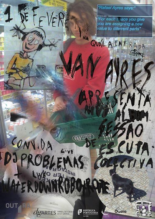 Van Ayres (álbum em escuta) ▰ WaterDownRobotRoute ▰ DJ Problemas