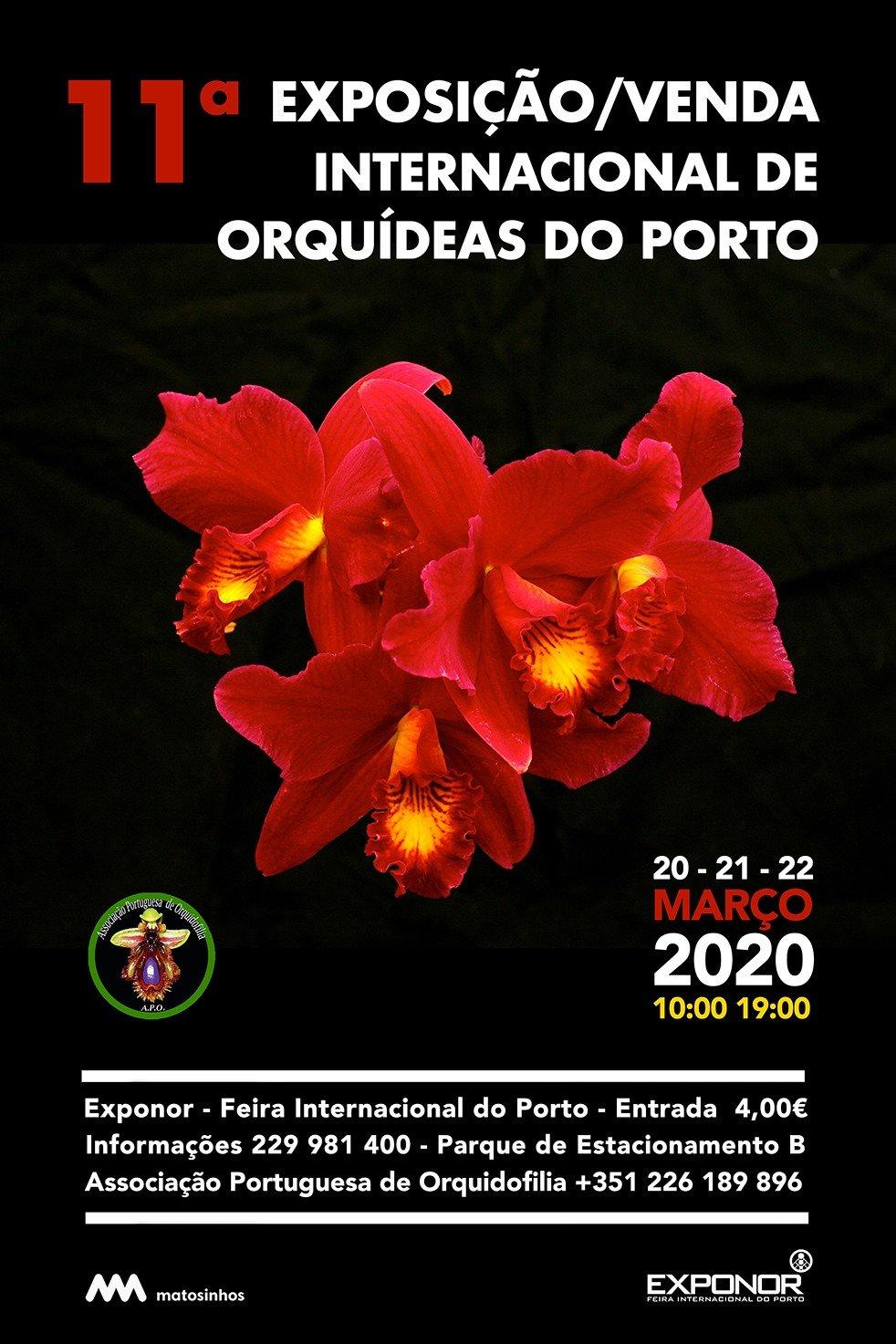 11.ª Exposição / Venda Internacional de Orquídeas do Porto