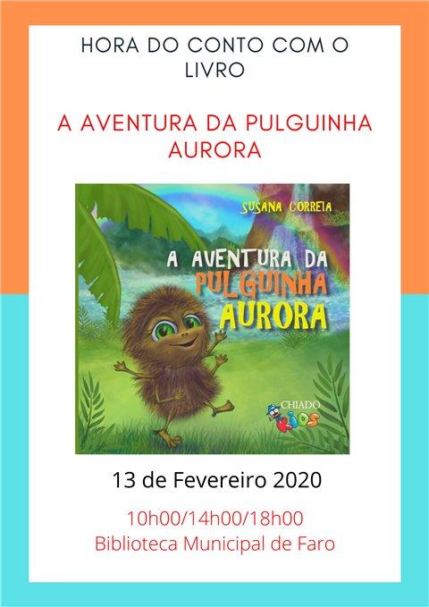 A Aventura da Pulguinha Aurora, de Susana Correia