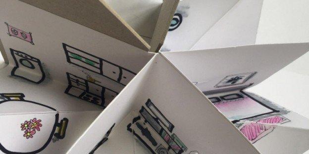 Casa 3 D | Construção de um livro a três dimensões