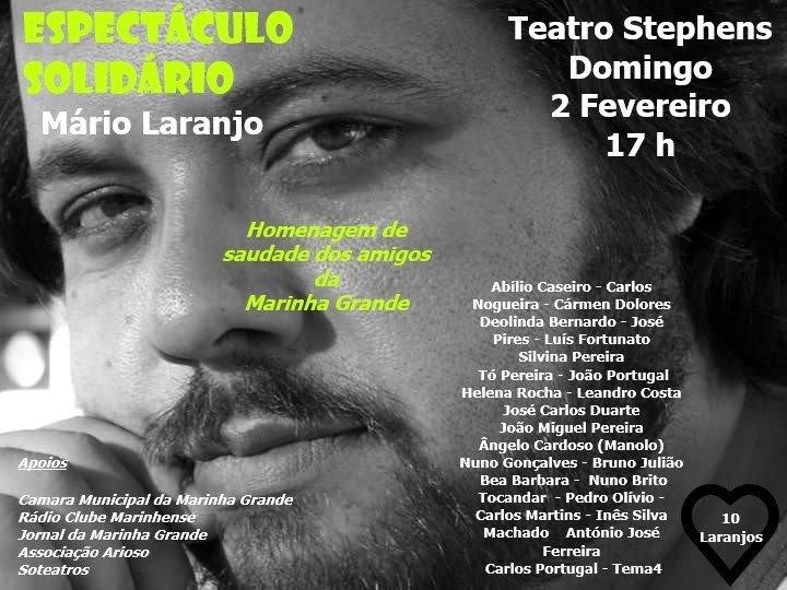 Espetáculo solidário Mário Laranjo