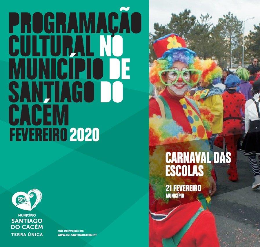 Agenda cultural de fevereiro