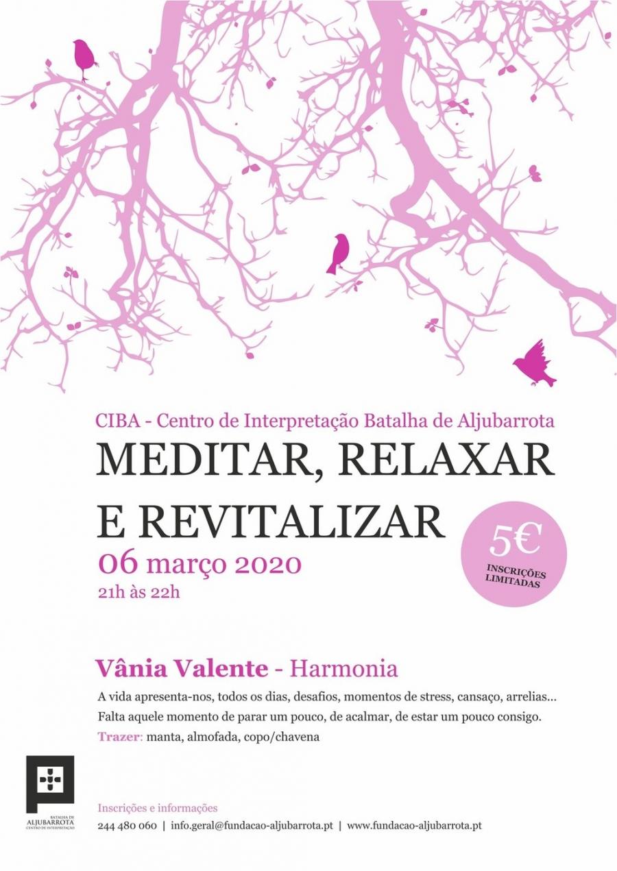 Meditação guiada: meditar, relaxar, revitalizar