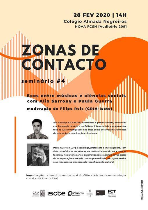 Zonas de Contacto #4 ecos entre músicas e ciências sociais