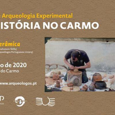 Workshop Arqueologia Experimental - Cerâmica