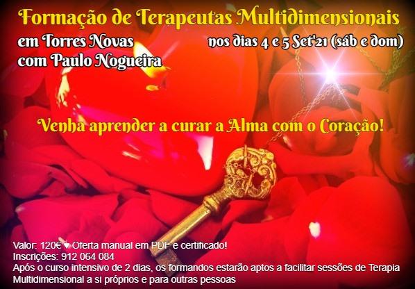 Curso de Terapia Multidimensional em Torres Novas Set'21