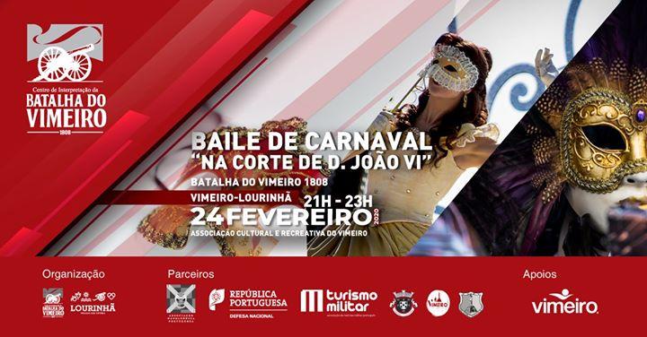 Baile de Carnaval 'Na Corte de D. João VI'
