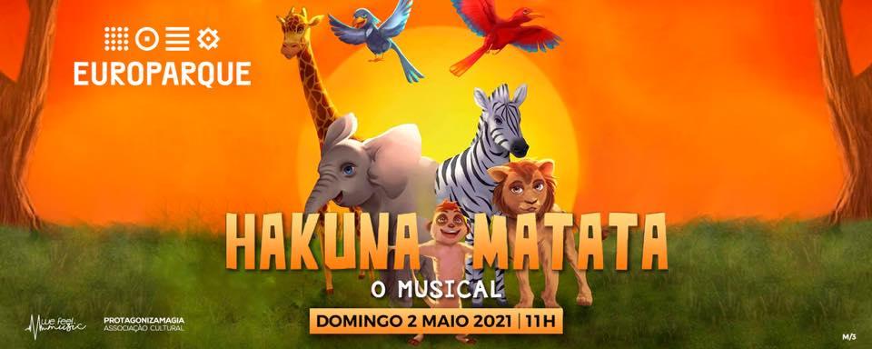 Hakuna Matata o Musical em Santa Maria da Feira