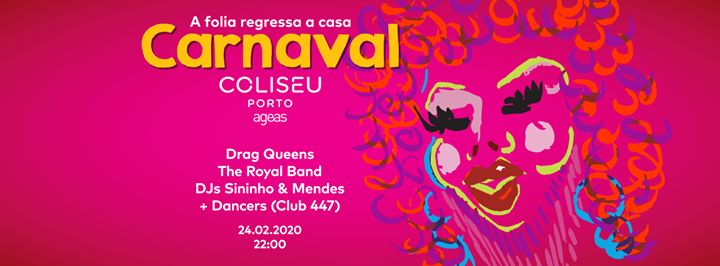 Carnaval no Coliseu: A folia regressa a casa!