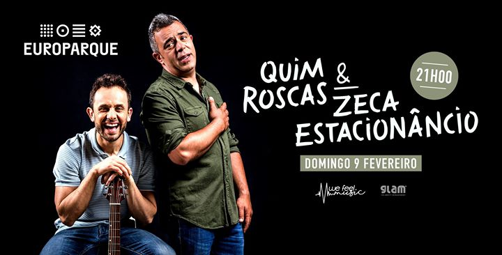 Quim Roscas & Zeca Estacionâncio em Sta. Maria da Feira