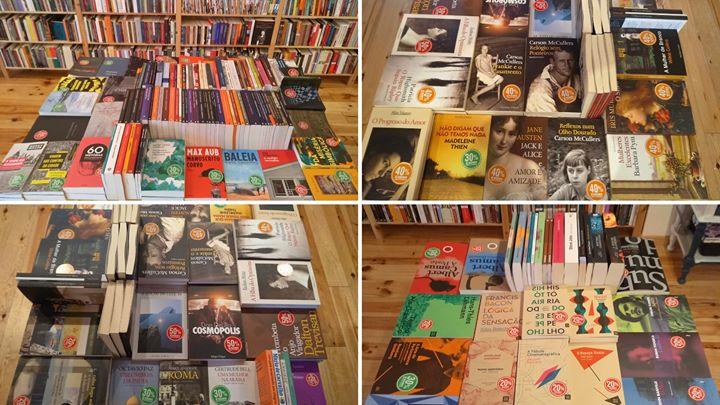 Grandiosa feira do livro na livraria