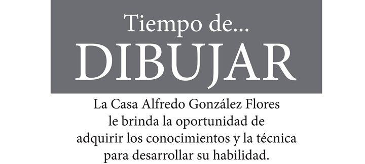Taller de Dibujo en Casa de la Cultura Alfredo González Flores