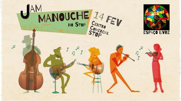 Jam Manouche no Stop - Espaço Livre