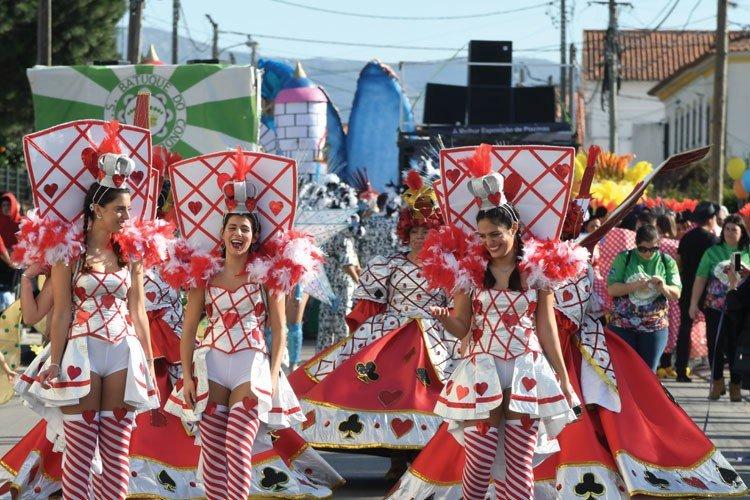 Desfile de Carnaval na Quinta do Conde