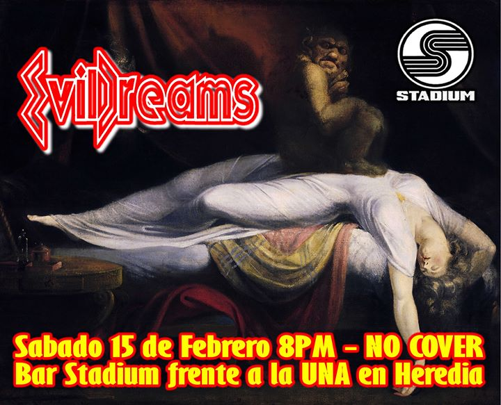 EvilDreams en vivo!