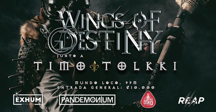Wings Of Destiny & Timo Tolkki @Mundoloco