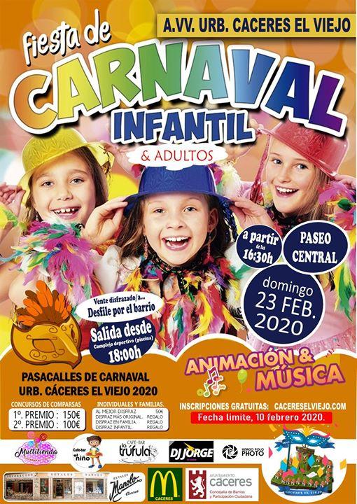 Fiesta y Concurso de Carnaval 2020