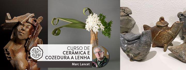 Curso cerâmica com Marc Lancet | Ceramics and Woodfiring