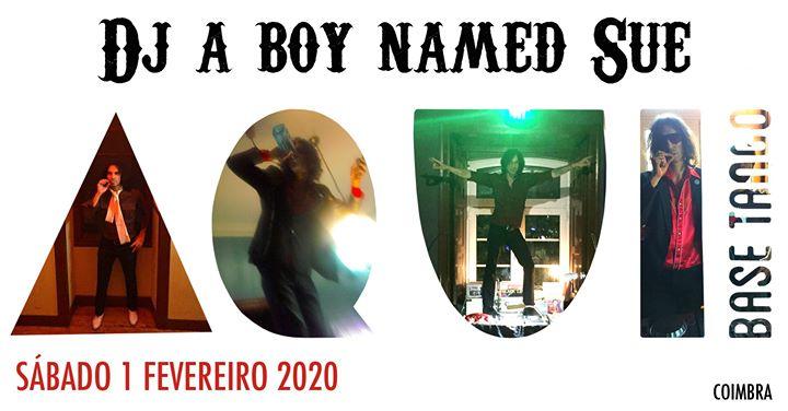 Dj a boy named Sue - Aqui Base Tango