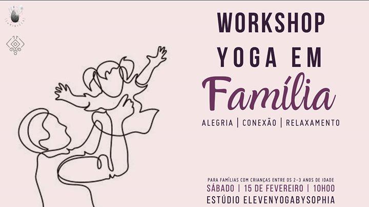 Workshop de Yoga em Família