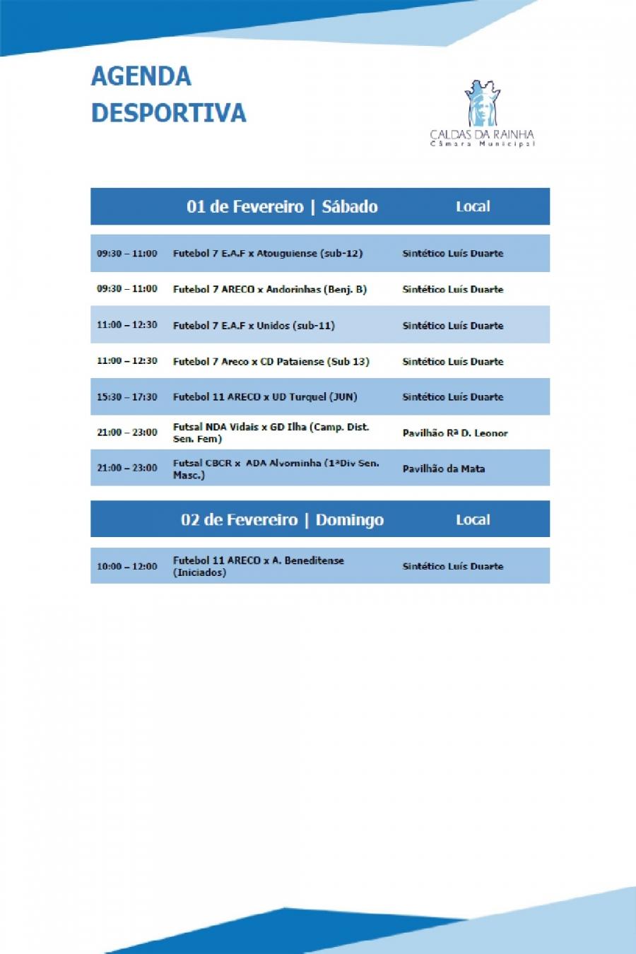 Agenda Desportiva Municipal