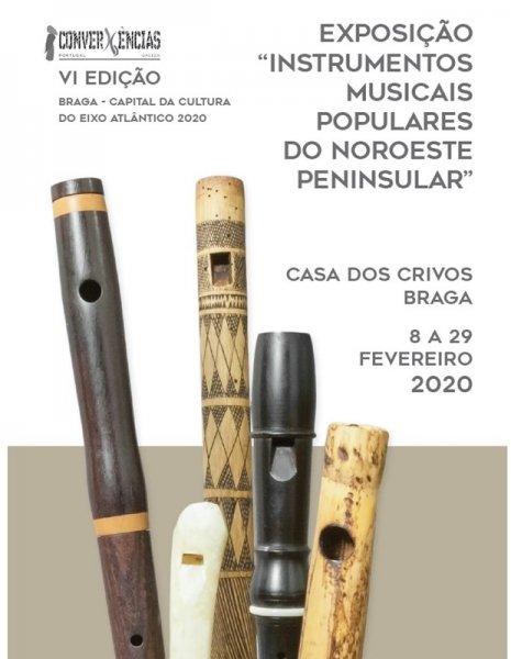 Instrumentos Musicais Populares do Noroeste Peninsular Convergências Portugal/Galiza