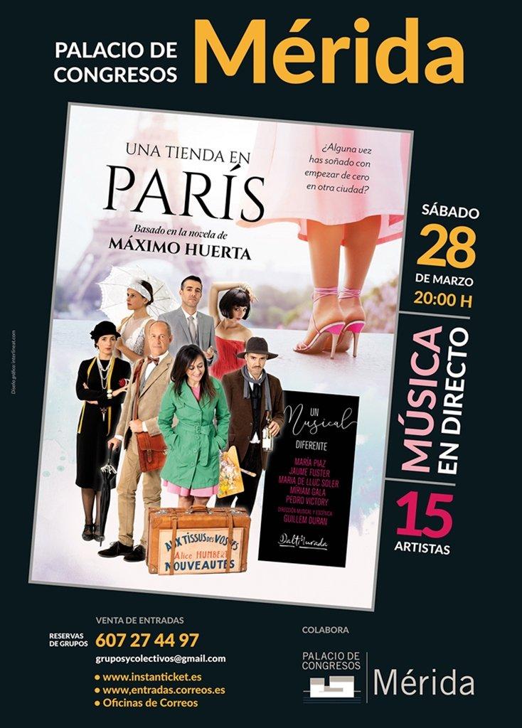 Musical: «Una tienda en París»