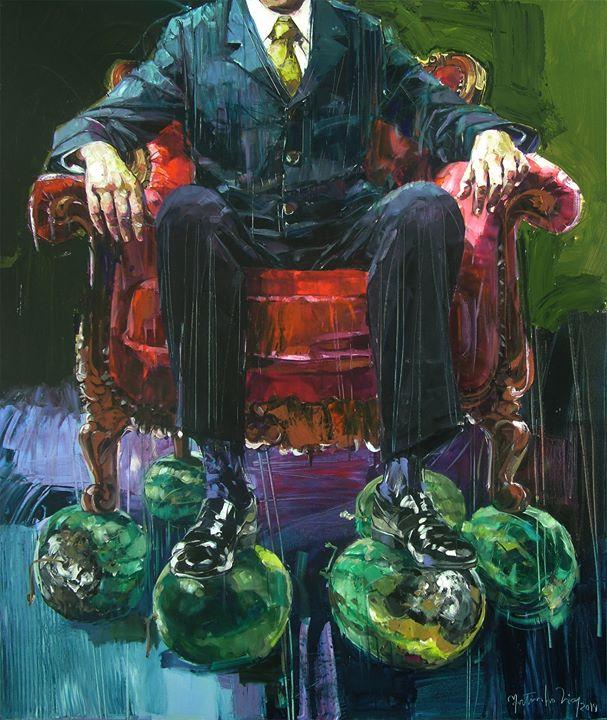 PENAS – pintura Martinho Dias :: inauguração 17h30