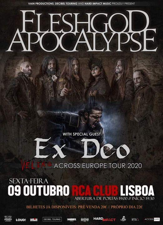 Fleshgod Apocalypse - RCA Club Lisboa