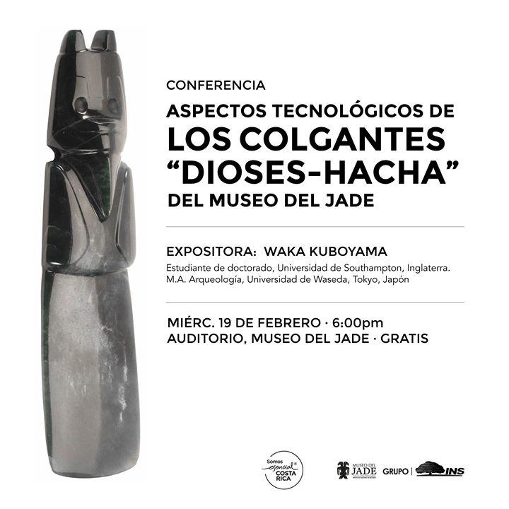 Conferencia: Aspectos tecnológico de los colgantes