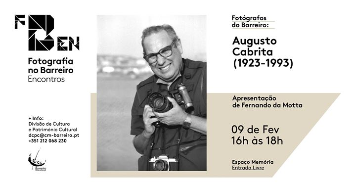 Fotógrafos do Barreiro: Augusto Cabrita (1923-1993)