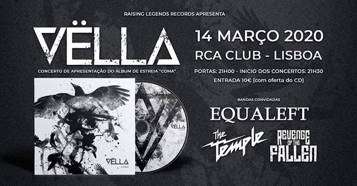 VËLLA - Concerto de apresentação de 'Coma' - RCA Club Lisboa