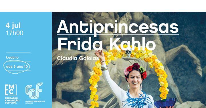 Antiprincesas Frida Khalo *Adiado*