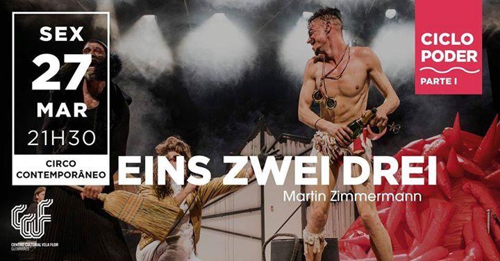 Eins Zwei Drei • Martin Zimmermann *Cancelado*