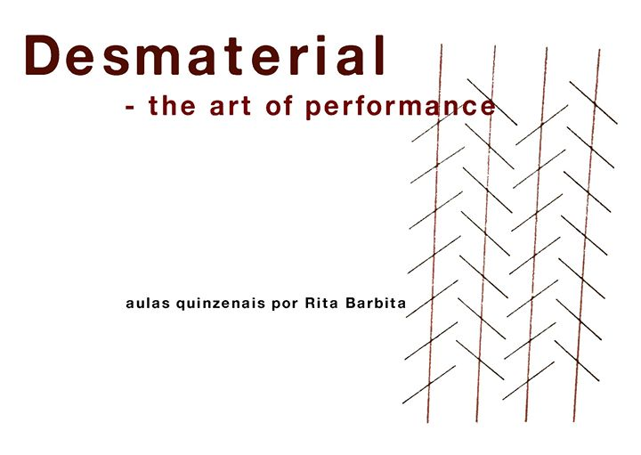 Desmaterial: the art of performance