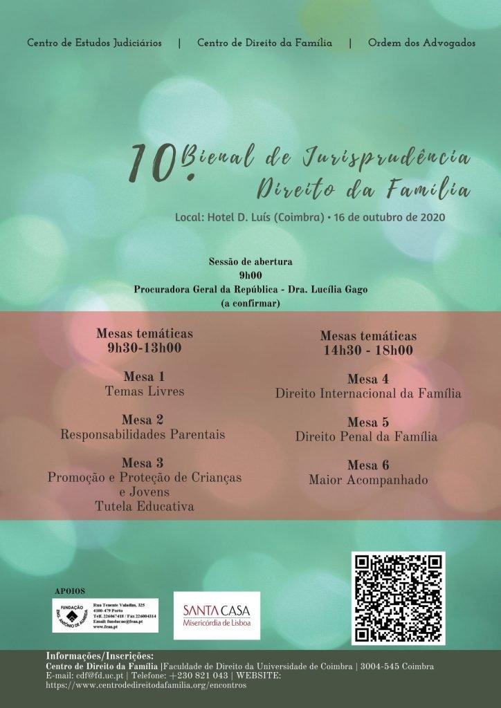 10.ª Bienal de Jurisprudência em Direito da Família